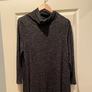 Old Navy Turtleneck Tunic - Gray